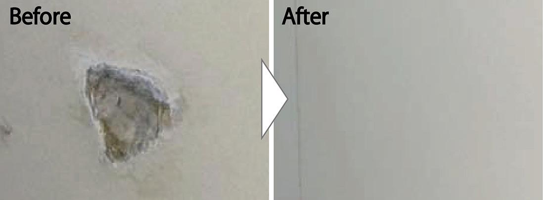 化粧合板の補修